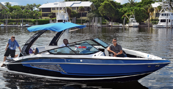 """Jacht Regal 2500 Bowrider RX - Prawdziwy """"sportowiec"""""""