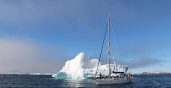"""""""Lady Dana 44"""" - pierwszy polski jacht, który opłynął biegun północny - już w niedzielę w Sopocie"""