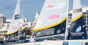 Bermuda Gold Cup. Świetny start Polaków w regatach World Match Racing Tour